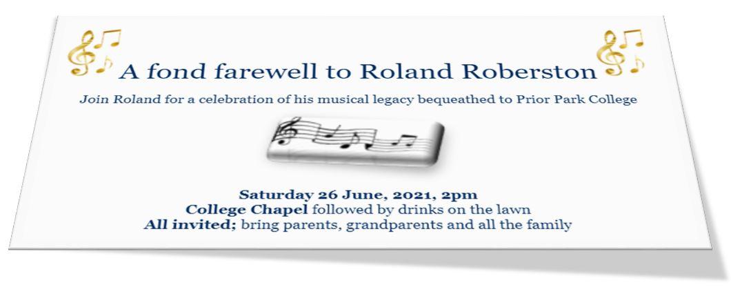 Goodbye Roland