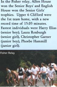 2000 Fisher Road Relay Race