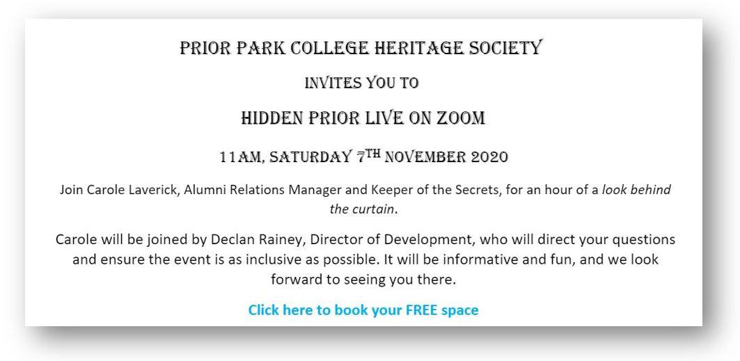 Hidden Prior